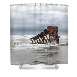 On A Day Like This Shower Curtain by Kristina Rinell