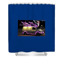 Shower Curtain featuring the photograph On A Mission With God by Suzanne Gaff