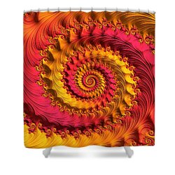 On Being Bold And Beautiful Shower Curtain