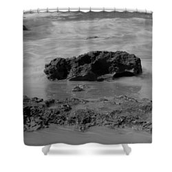 On Coast. Shower Curtain by Shlomo Zangilevitch