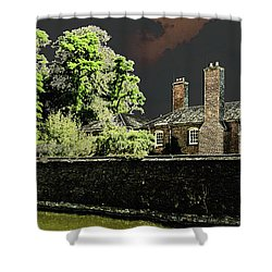 Shower Curtain featuring the photograph On Golden Pond by Bill Swartwout Fine Art Photography