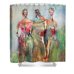 On Her Terms Shower Curtain
