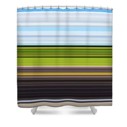 On Road IIi Shower Curtain