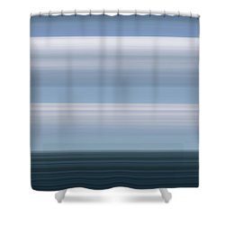 On Sea Shower Curtain