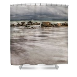 On The Black Sea Coast Shower Curtain