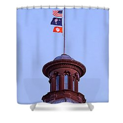 On The Dome-5 Shower Curtain