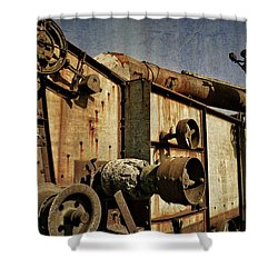 Shower Curtain featuring the photograph On The Farm 2.0 by Michelle Calkins