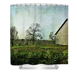 Shower Curtain featuring the photograph On The Road Again - Ml03 by Aimelle