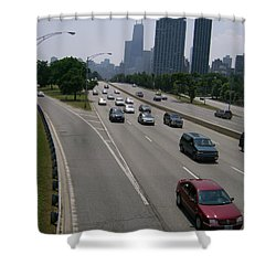 Drive The Road Again Shower Curtain