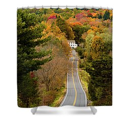 On The Road To New Paltz Shower Curtain