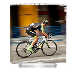 On The Road To Victory. Shower Curtain