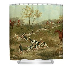 On The Scent Shower Curtain by James Russell Ryott