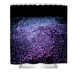 Shower Curtain featuring the photograph On The Surface by Eric Christopher Jackson