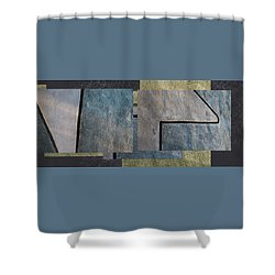 On The Wall - Shower Curtain