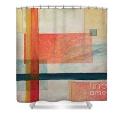 Transparencies Shower Curtain