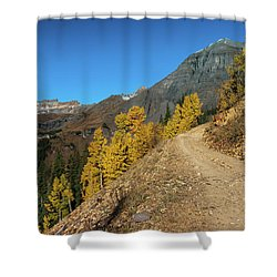 On The Way To Clear Lake In Co - 0056 Shower Curtain