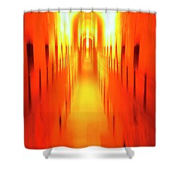 Shower Curtain featuring the photograph On The Way To Death Row by Paul W Faust - Impressions of Light