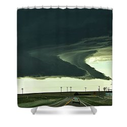 On The Way To The Akron Co Beast Shower Curtain