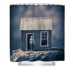 Shower Curtain featuring the photograph On Top Of Old Smokey by Edward Fielding
