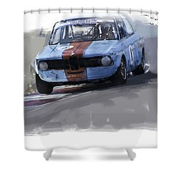 On Track 2002 Shower Curtain