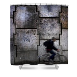 On Your Bike. Shower Curtain