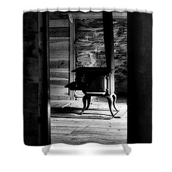 Once Shower Curtain by Deborah Scannell