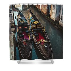 Once In Venice Shower Curtain