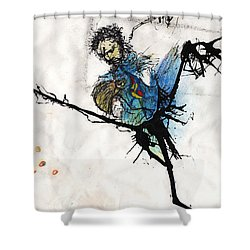 Once More Shower Curtain
