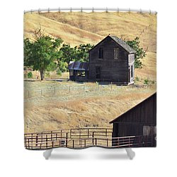 Once Upon A Homestead Shower Curtain