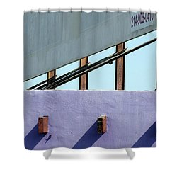 Once Upon A Rooftop Shower Curtain