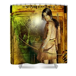 Once Was Shower Curtain
