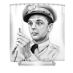 One Bullet Fife Shower Curtain