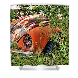 One Eyed Bug Shower Curtain