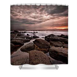 One Final Moment Shower Curtain by Jorge Maia
