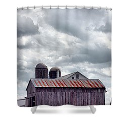 One Fine Cloudy Day  Shower Curtain