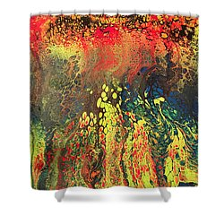 One Fire Shower Curtain