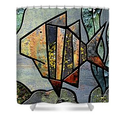 One Fish Shower Curtain
