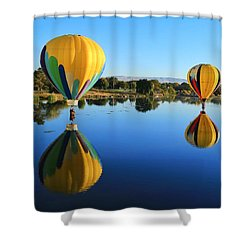 Shower Curtain featuring the photograph One In Hiding by Lynn Hopwood