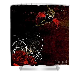 One Love, One Heart Shower Curtain
