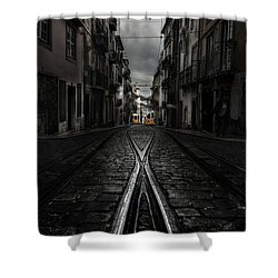 One Memory Shower Curtain by Jorge Maia