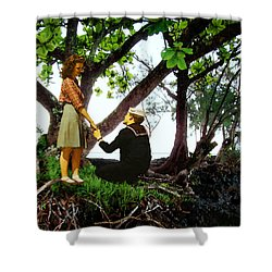 One Moment In Paradise Shower Curtain