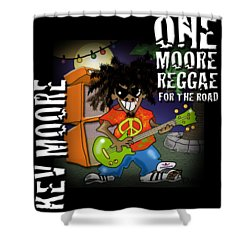 One Moore Reggae Shower Curtain