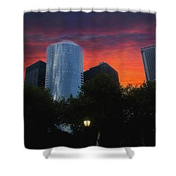 One New York Center-1 Shower Curtain