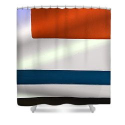 One Nice Corner Shower Curtain