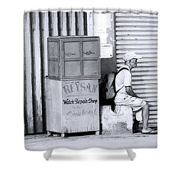 One Of 1000's Of Lonely Souls Shower Curtain by Jez C Self