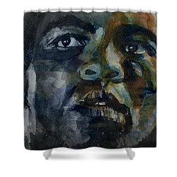 Shower Curtain featuring the painting One Of A Kind  by Paul Lovering