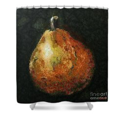 One Pear Shower Curtain