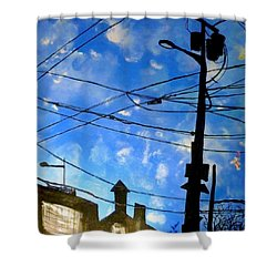 One Philly Sky Shower Curtain