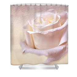 One Rose Is Enough For The Dawn Shower Curtain