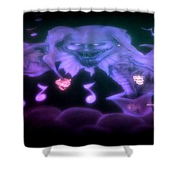 One Scary Jack-in-the-box 2 Shower Curtain
